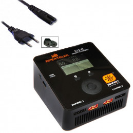 CHARGEUR DOUBLE LIPO 6S...